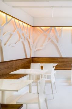 Green Cafe Restaurant | Designed by YA Studio....