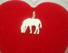 Pingente Cavalo Em Prata - Peça o seu pelo Whats (21) 97266-8643  - #pingentedecavalo #cavalo #veterinaria