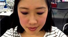 How to wear purple: Carla GS wears Urban Decay Afterglow Powder Blush in Bittersweet as an eyeshadow. Purple Blush, Blush Color, Urban Decay Afterglow, Independent Women, Powder, Eyeshadow, Note, How To Wear, Beauty