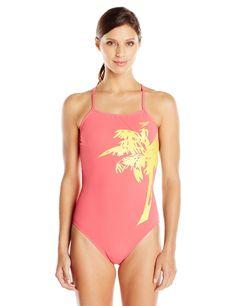80661f7e21 Speedo Women s Palm Extreme Back One Piece Swimsuit