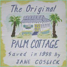 Palm Cottage, AFTER  Jane Coslick Designs & Restorations
