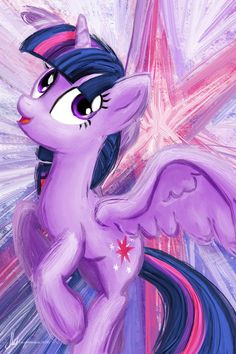 Twilight Sparkle - My Little Pony Friendship is Magic Art Print Poster