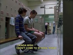 freaks and geeks; this show just perfectly describes high school Cool Stuff, Funny Stuff, Movies Showing, Movies And Tv Shows, Freeks And Geeks, Teenage Dirtbag, Cinema, School Today, Movie Lines