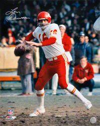 Len Dawson Kansas City Chiefs Autographed 16x20 Photograph $49.99