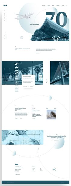 Free PSD Template - Architecture and Consulting Website by Euroart 93 #website #psd #freebie