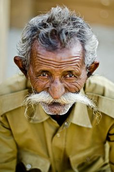 Police officers in one state in India are given a slight pay upgrade for having a moustache. #ifacts #I IN #1BILLION+