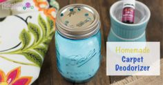 Homemade Carpet Deodorizer - Holistically Engineered Diy Carpet, Deep Carpet Cleaning, How To Clean Carpet, Green Cleaning, Cleaning Diy, Household Cleaning Tips, Cleaning Recipes, Homemade Cleaning Products, Natural Cleaning Products