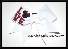 $12 Love Mouse Pink Cheer Bow Available on www.cheerlicious.com Disney Cheer Bows, Pink Cheer Bows, Cheerleading Cheers, Projects To Try, Place Card Holders, Bling, Crafts, Ideas, Jewel
