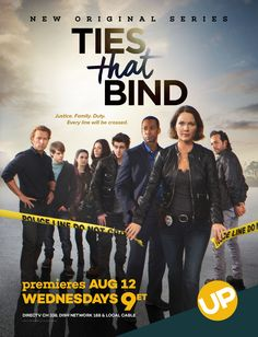 """UP's acclaimed hit series """"Ties That Bind."""" Star Kelli Williams is amazing."""