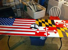Baltimore, MD inspired Beer Pong Table<3