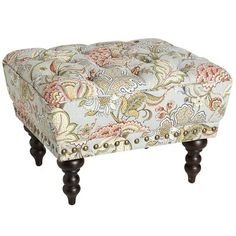 Chas Ottoman - Blue Meadow... want this but not for $230! Gorgeous though
