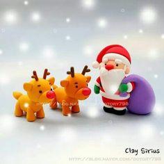 Santa con renos