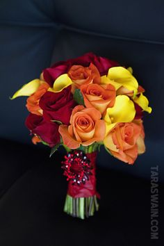 Fall Calla lilies with a touch of burgundy bling. Yellow Rose Bouquet, Yellow Bouquets, Burgundy Flowers, Wedding Costs, Plan My Wedding, Dream Wedding, Wedding Ideas, Yellow Wedding, Floral Wedding