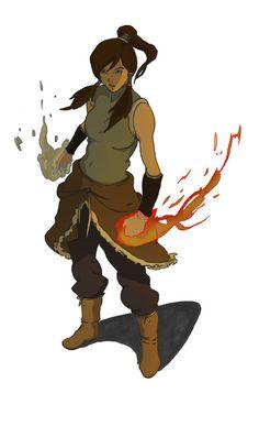 Legend of Korra Artwork - i am the avatar by pain16 on deviantART
