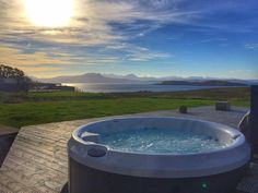 The views from the hot tubs at locholly Lodge and Stac Polly cottage are 2nd to none!  http://ift.tt/208l6hl