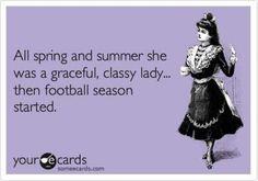 Makes me giggle and think of my bff But Football, Football Baby, Hockey Mom, Hockey Stuff, Ice Hockey, Football Shirts, College Football, Football Wives, Football Sayings