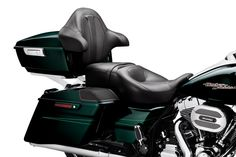 Saddle up with your Biker Claus. | Harley-Davidson Hammock Heated Rider Passenger Seat