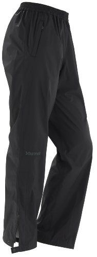Marmot Women's Precip Pant by Marmot. $24.00. Zip Front Hand Pockets. PreCip Dry Touch Technology, Waterproof/Breathable. Ankle Side Zips w/ Snap Tabs at Cuffs. 100% Seam Taped. Elastic Waist with Draw Cord. PreCip 2.5 100% Nylon Ripstop 2.7oz/yd. The PreCip rain pant sets the standard for lightweight backpacking, hiking and mountain travel rainwear that is eminently affordable.