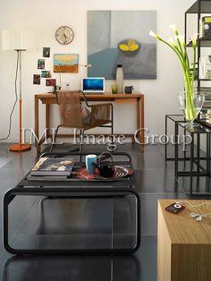 Stainless steel floor tiles...Casa Viva