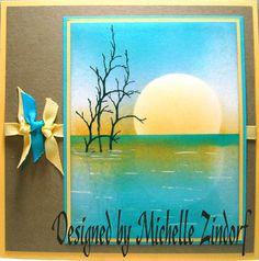 SU Michelle Zindorf: Sunset Still Lake - Tutorial #299