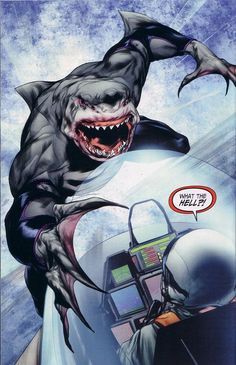 First look at King Shark on The Flash! | moviepilot.com