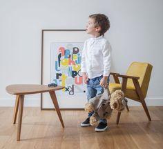 Советское кресло с деревянными подлокотниками - Эргономика и дизайн