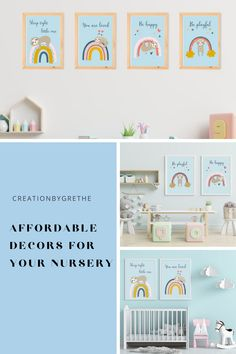Are you looking for an easy, affordable and convienient way of finding that perfect decor for your kid's room then you are in the right place. Many styles from minimalist decor lover to colorful and creative. #kidsroomdecor #nurserywallart #homedecor #playroomdecor #playroomprint Kids Room Paint, Kids Room Wall Art, Room Art, Nursery Wall Art, Nursery Decor, Playroom Wall Decor, Baby Room Decor, Playroom Printables, Baby Shower Invitation Cards