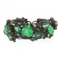 erickson beamon jewelry cuffs | erickson beamon GREEN GLENDA CUFF | Jewelry to Buy