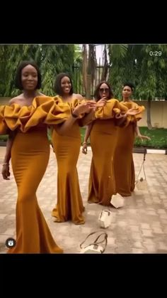 Budget Bridesmaid Dresses, African Bridesmaid Dresses, Best African Dresses, African Wedding Attire, Latest African Fashion Dresses, African Print Fashion, African Attire, Bridesmaids, Mermaid Bridesmaid Dresses