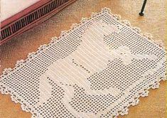 Como fazer tapetes de crochê