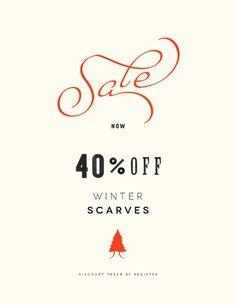 Pretty sale poster