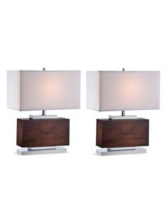 Firmino Table Lamp (Set of 2) from Apartment for Him: Furnishings on Gilt