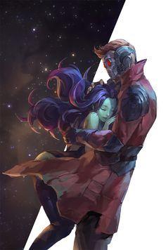 Will we see them reunited in Avengers Star-Lord & Gamora. Will we see them reunited in Avengers Marvel Dc Comics, Marvel Avengers, Ms Marvel, Marvel Fanart, Marvel Memes, Deadpool X Spiderman, Avengers Fan Art, Captain Marvel, Captain America