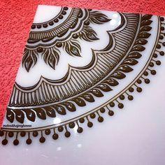 Henna on paper .Amazing pattern (henna art on paper) Henna Designs On Paper, Best Mehndi Designs, Bridal Mehndi Designs, Beginner Henna Designs, Henna Designs Easy, Henna Tattoo Designs, Henna Tutorial, Mehndi Design Pictures, Mehndi Images