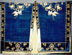 Taoism attire in China. Chinese call it Fayi(法衣). When taoists perform a ceremony or ritual of taoism, they wear this attire. It is used in Peking opera widely. Different patterns symbolize different powers. This is a special part of hanfu culture.