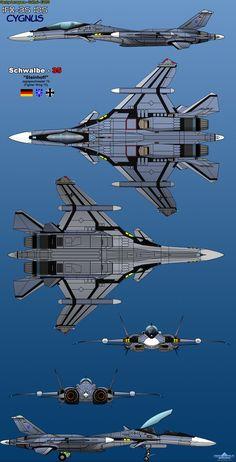 IFX-35 IDS Cygnus - Luftwaffe by haryopanji on DeviantArt