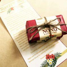 Pasifika inspired & fragrantly infused gift soaps #pasifikaproducts