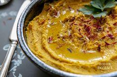 Mrkvový hummus | Hodně domácí Vegetarian Recipes, Cooking Recipes, Hummus, Tofu, Quinoa, Pudding, Ethnic Recipes, Syrup, Bulgur