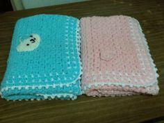 Baby blanket I follow Yolanda Soto Lopez pattern 2015 Jan 13