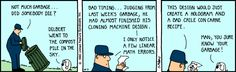The Dilbert Strip for October 3, 1990