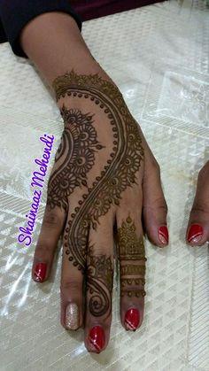 Shainaaz mehndi design Alphabet Images, Festival Image, Simple Mehndi Designs, Krishna Images, Birthday Images, Mehendi, Mobile Wallpaper, Cute Wallpapers, Henna