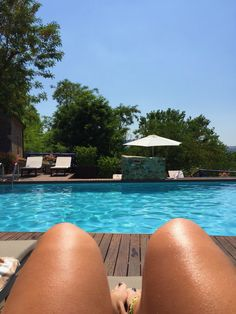 A day at he pool #summer #holiday #italy #pool