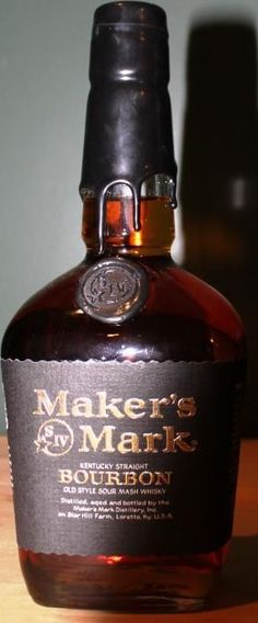 Makers is my favorite bourbon whiskey but I've yet to try this blend. Bourbon Whiskey, Good Whiskey, Bourbon Drinks, Cigars And Whiskey, Scotch Whiskey, Whiskey Bottle, Fun Drinks, Alcoholic Drinks, Cocktails