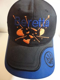 BERETTA Hat Cap Shooting Trap Skeet Breaking Clay Baseball Style Adjustable 02de553a67c4