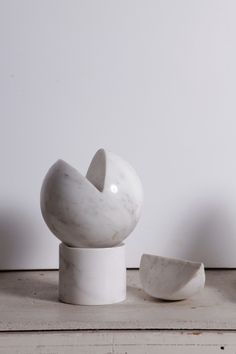 Hanna Eshel - Untitled Marble Sculpture By Hanna Eshel   From a unique collection of sculptures at http://www.1stdibs.com/art/sculptures/