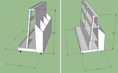 plywood storage carts - Google Search
