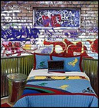Kids Bedroom Graffiti