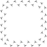 Free Clipart Bird Tracks black and white. Message Of Hope, Free Graphics, Inspirational Message, Free Coloring Pages, Diy Videos, Sewing Crafts, Diy Projects, Clip Art, Printables