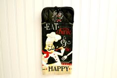 Kitchen embroidered french chef Hand towel by PrimitivePrairie Gifts For Women, Gifts For Her, Plastic Gift Bags, French Kitchen, Kitchen Black, Bride Shower, Personalised Cushions, Kitchen Hand Towels, Feminine Hygiene