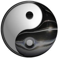 Yin Yang - Symbol  by DonkeyHotey, via Flickr